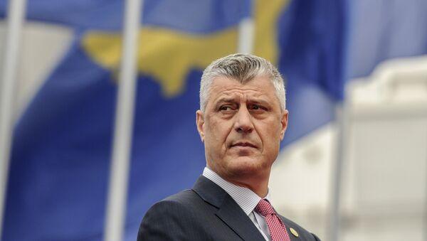 Novi predsednik tzv. Kosova Hašim Tači - Sputnik Srbija