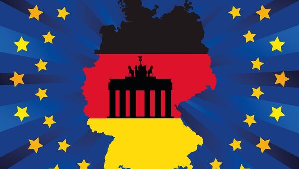 Немачка и ЕУ-илустрација - Sputnik Србија