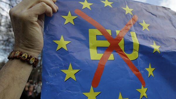 Anti EU tansparent - Sputnik Srbija