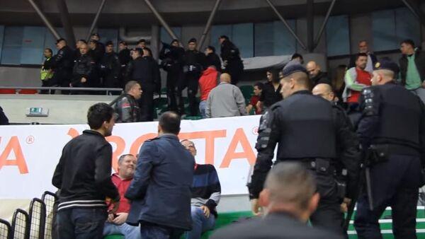 Детаљ са утакмице Цедевита-Црвена звезда - Sputnik Србија