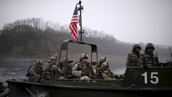 Здружене војне вежбе САД и Јужне Кореје - Sputnik Србија