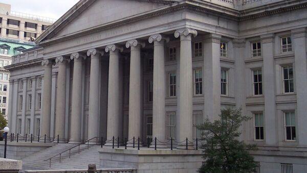 Здање америчког Министарства финансија у Вашингтону - Sputnik Србија