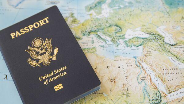 Američki pasoš na karti sveta - Sputnik Srbija