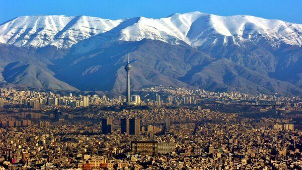 Panorama Teherana, prestonice Irana - Sputnik Srbija
