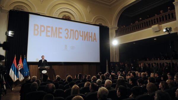Obeležavanja i sećanja na nevine žrtve ustaškog pogroma u nacističkoj tvorevini NDH - Sputnik Srbija