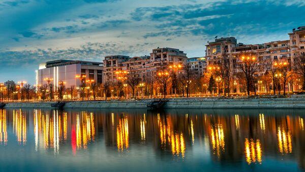Panorama Bukurešta, prestonice Rumunije - Sputnik Srbija