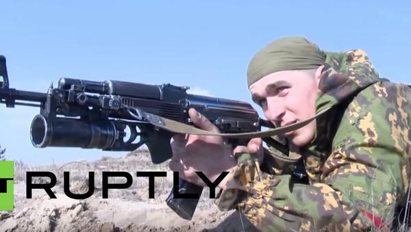 Belarus: Russian and Belarusian airborne forces conduct drills near Polish border - Sputnik Србија