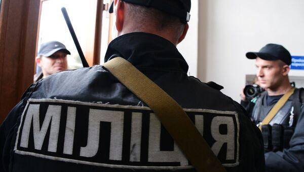 Pripadnik ukrajinske policije - Sputnik Srbija