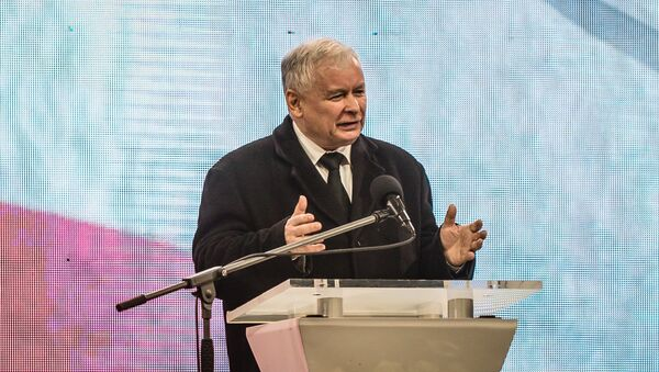 Bivši poljski premijer Jaroslav Kačinjski - Sputnik Srbija