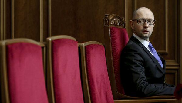 Арсениј Јацењук у Врховној ради Украјине - Sputnik Србија