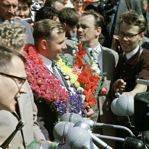 Jurij Gagarin — prvi čovek u svemiru - Sputnik Srbija