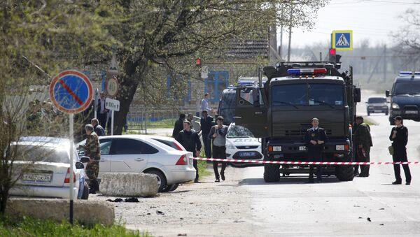 Полиција Русије врши увиђај у рејону  Ставропољ, после напада бомбаша самоубице - Sputnik Србија