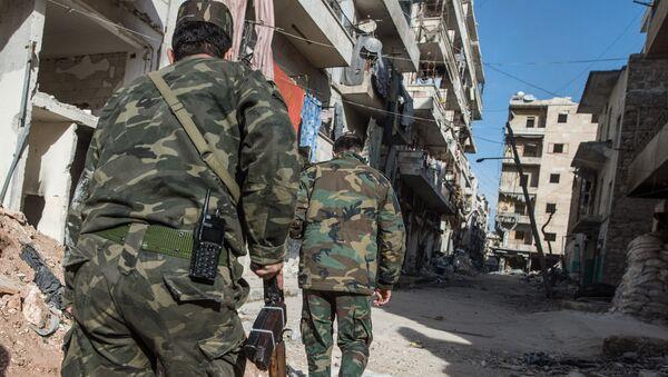 Situacija u sirijskom gradu Alepu. - Sputnik Srbija