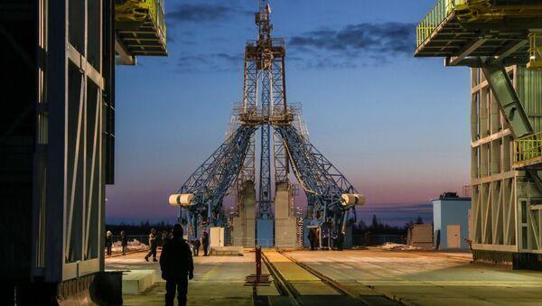 """Raketa """"Sojuz-2.1a"""" u Bajkonuru na kosmodromu """"Vostočni"""" - Sputnik Srbija"""