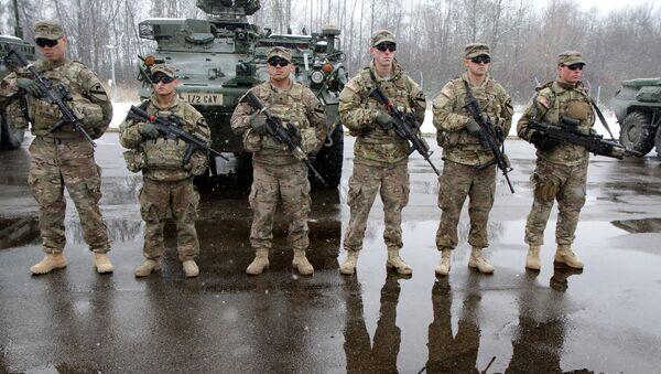 Амерички војници у Литванији - Sputnik Србија