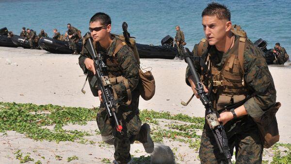 Амерички маринци на војним вежбама на Филипинима - Sputnik Србија