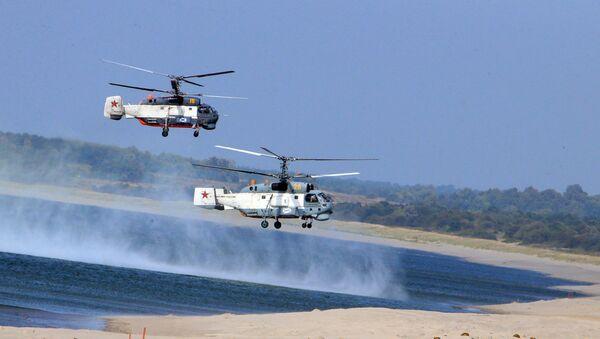 Балтичко море, хеликоптери - Sputnik Србија