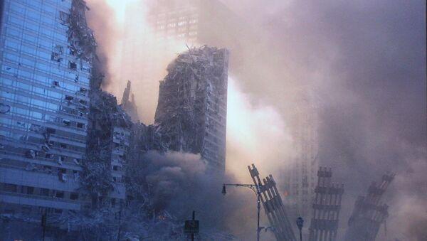 Рушевине непосредно након напада 11. септембра - Sputnik Србија