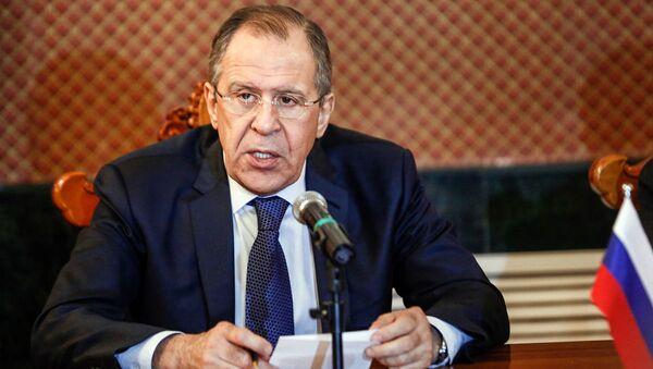Министар иностраних послова Русије Сергеј Лавров - Sputnik Србија