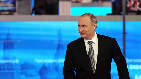 """""""Direktna linija"""" sa predsednikom Rusije Vladimirom Putinom - Sputnik Srbija"""