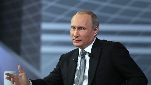 """""""Директна линија"""" са председником Русије Владимиром Путином - Sputnik Србија"""