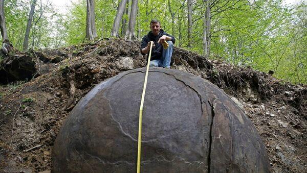 Džinovska kamena lopta, Zavidovići - Sputnik Srbija