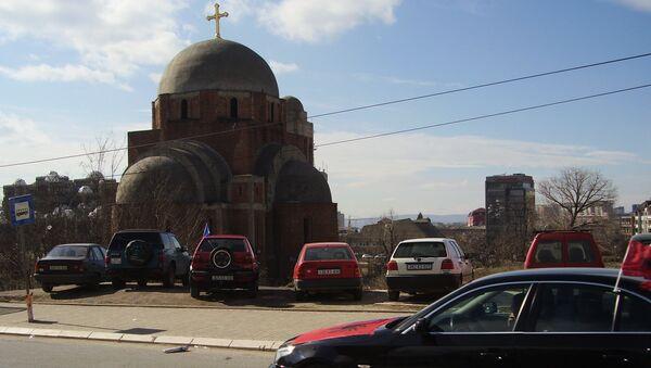 Храм Христа спаса у Приштини - Sputnik Србија
