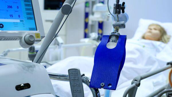 Пацијент у болничком кревету - Sputnik Србија