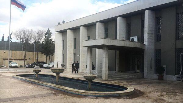 Ambasada Rusije u Damasku - Sputnik Srbija