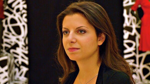 Glavna urednica RT Margarita Simonjan - Sputnik Srbija