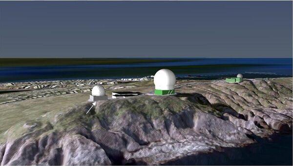 Радарски систем Глобус 2 у Вардеу, на северу Норвешке - Sputnik Србија