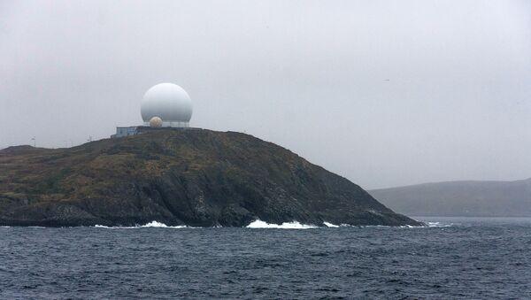 Radarski sistem Globus 2 u Vardeu, na severu Norveške - Sputnik Srbija