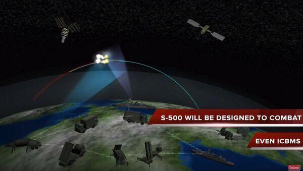 Компјутерска симулација противракетног система С-500 - Sputnik Србија
