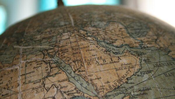 Saudijska Arabija na globusu - Sputnik Srbija