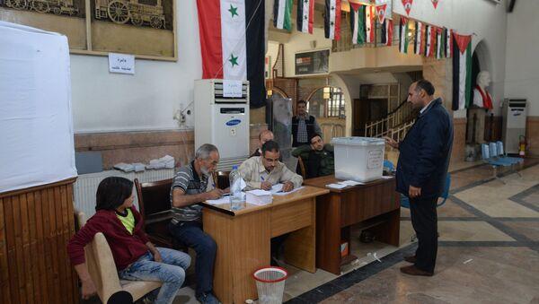 Парламентарни избори у Сирији - Sputnik Србија