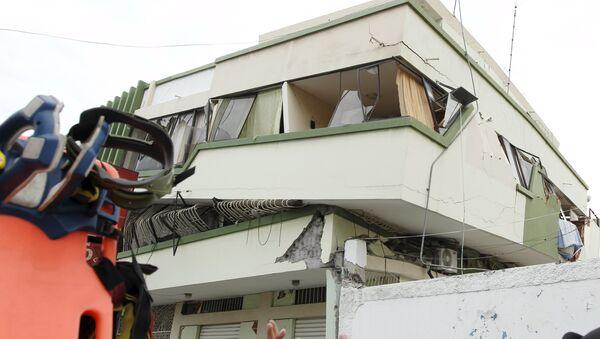 Земљотрес у Еквадору. - Sputnik Србија