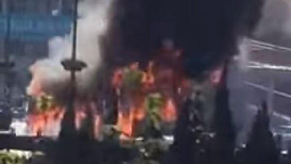 Eksplozija u autobusu u Istanbulu, 17. april 2016. - Sputnik Srbija