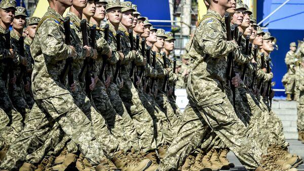 Украјински војници - Sputnik Србија