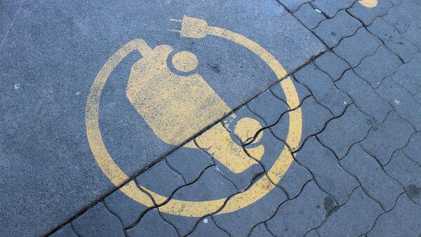 Znak za punjenje električnih automobila - Sputnik Srbija