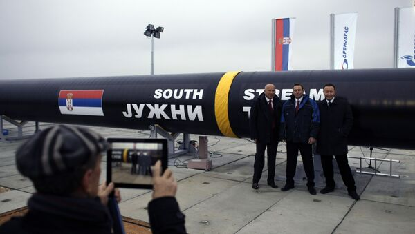 Јужни ток - Sputnik Србија