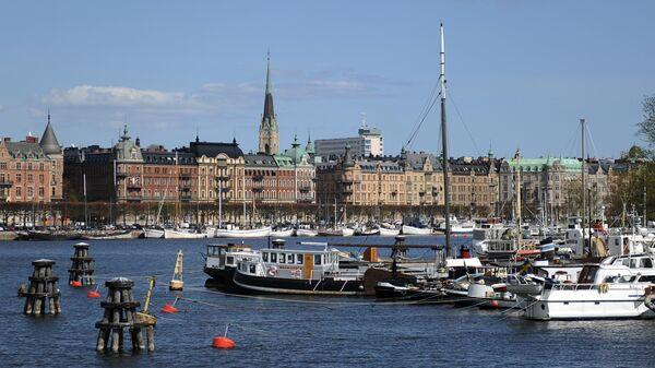 Pogled na Stokholm, prestonicu Švedske - Sputnik Srbija