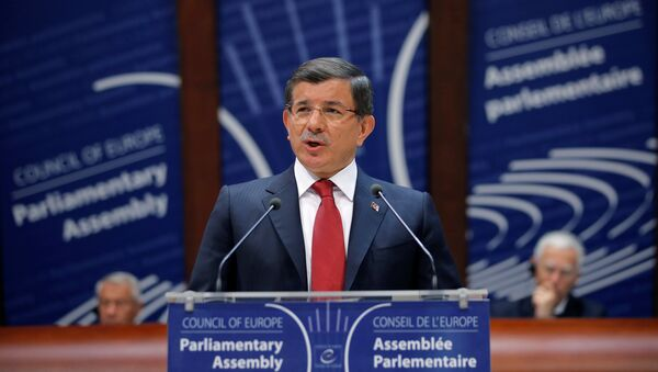 Премијер Турске Ахмет Давутоглу - Sputnik Србија