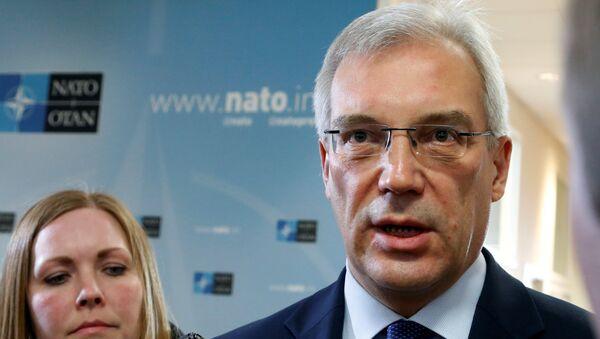 Stalni predstavnik Rusije pri NATO-u Aleksandar Gruško - Sputnik Srbija