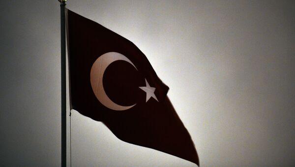 Застава на Турској амбасади у Москви - Sputnik Србија