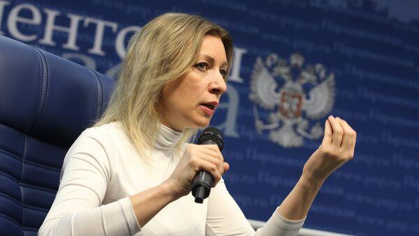 Портпаролка Министарства спољних послова Марија Захарова - Sputnik Србија