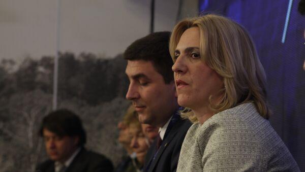 Жељка Цвијановић на Економском форуму на Јахорини - Sputnik Србија