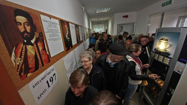 Redovi za glasanje na izborima 2016. godine - Sputnik Srbija