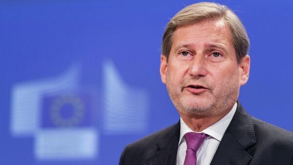 Evropski komesar za susedsku politiku i proširenje Johanes Han - Sputnik Srbija