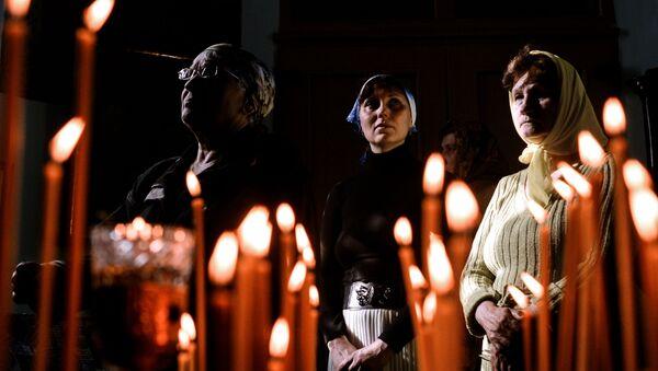 Vernici u Crkvi Preobraženja u Novgorodskoj oblasti - Sputnik Srbija