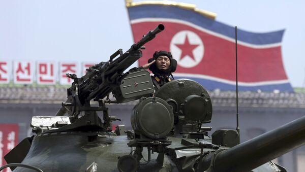 Vojska Severne Koreje na paradi u Pjongjangu 2013. godine - Sputnik Srbija
